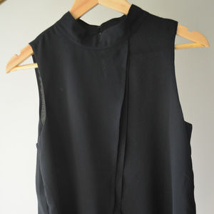White House Black Market Tops - Black Shift Top